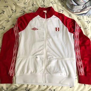 Peru World Cup Russia 2018 Training Jacket Size M